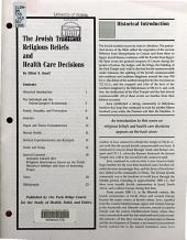 The Jewish Tradition PDF