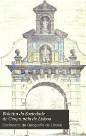 Boletim da Sociedade de geographia de Lisboa: Volume 6