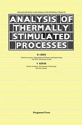 The Analysis of Thermally Stimulated Processes