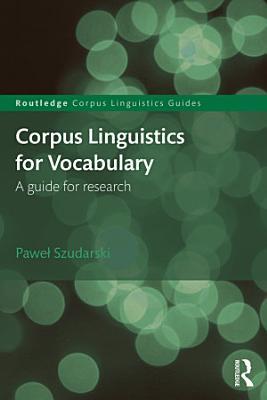 Corpus Linguistics for Vocabulary PDF