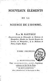 Nouveaux éléments de la science de l'homme