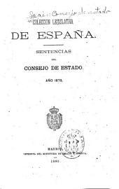Compentencias y sentencias ...: año 1858-1890