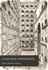 A Source Book of Roman History