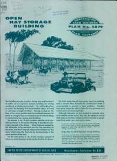 Open hay storage building: Volumes 828-835