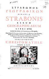 Strabonis rerum geographi libri XVII