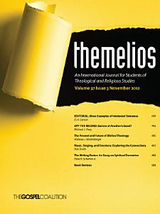 Themelios  Volume 37  Issue 3 PDF