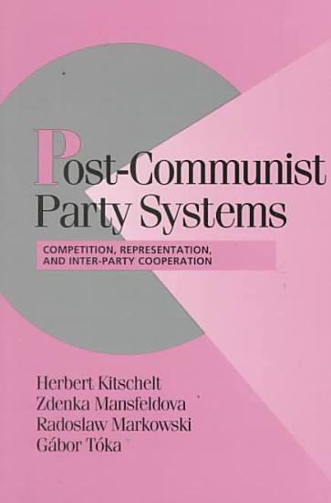 Post Communist Party Systems PDF