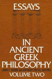 Essays in Ancient Greek Philosophy II PDF