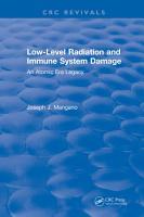 Low Level Radiation and Immune System Damage PDF