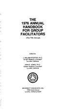 The 1976 Annual Handbook for Group Facilitators PDF