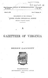 The Gazetteer of Virginia: Volume 8, Issue 232