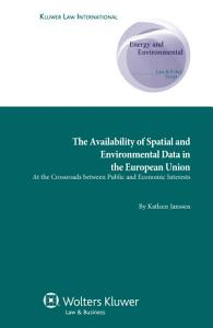 Availability of Spatial and Environmental Data in the European Union PDF