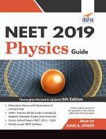 NEET 2019 Physics Guide   6th Edition PDF