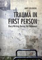 Trauma in First Person PDF