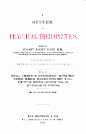 A System of practical therapeutics: Volume 1