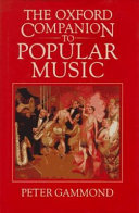 Download The Oxford Companion to Popular Music Book