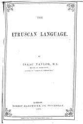 The Etruscan Language: Volume 9