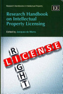 Research Handbook on Intellectual Property Licensing PDF