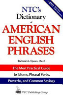 NTC s Dictionary of American English Phrases PDF