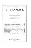 The Analyst PDF