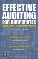 Effective Auditing For Corporates PDF