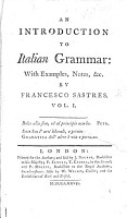 An Introduction to Italian Grammar PDF
