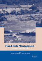 Flood Risk Management  Research and Practice PDF