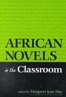 African Novels in the Classroom PDF
