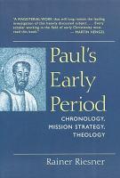 Paul s Early Period PDF