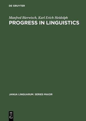 Progress in Linguistics