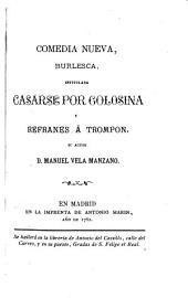 El refranero general español, parte recopilado, y parte compuesto: Volúmenes 9-10