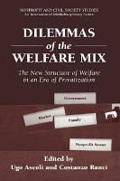 Dilemmas of the Welfare Mix PDF