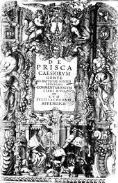 De prisca Caesiorum gente Io. Baptistae Fonteii primionis commentariorum libri duo. Cum Iulii Iacobonii appendice