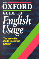 The Oxford Guide to English Usage PDF