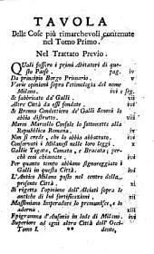 Descrizione Di Milano: Ornata Con Molti Disegni In Rame Delle Fabbriche più cospicue, che si trovano In Questa Metropoli, Volume 1
