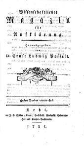 Wissenschaftliches Magazin für Aufklärung: Volume 4