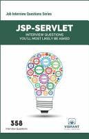 JSP Servlet Interview Questions You ll Most Likely Be Asked PDF