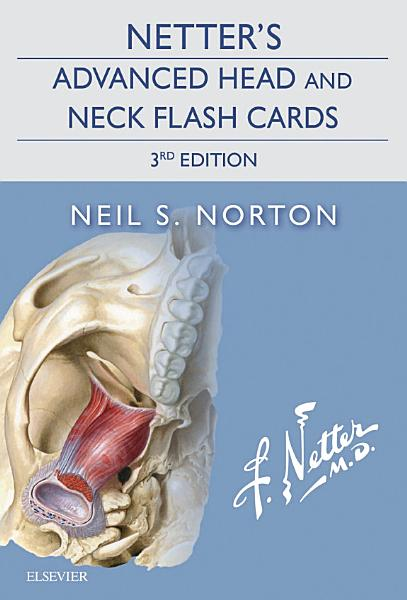 Netter's Advanced Head and Neck Flash Cards E-Book