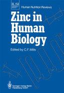 Zinc in Human Biology PDF