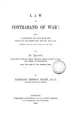 Law of Contraband of War