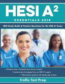 HESI A2 Essentials 2018 Book