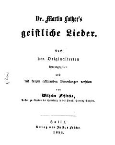 Dr  Martin Luther s geistliche Lieder PDF