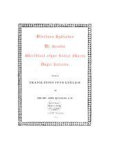 De insulis meridiani atque Indici maris nuper inventis