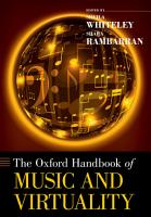 The Oxford Handbook of Music and Virtuality PDF