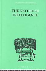The Nature of Intelligence