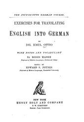 Exercises for Translating English Into German