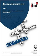 Leading and Motivating a Team Effectively PDF