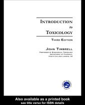 Introduction to Toxicology, Third Edition: Edition 3