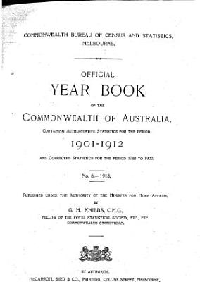 Official Year Book of the Commonwealth of Australia  No  11   1918 PDF