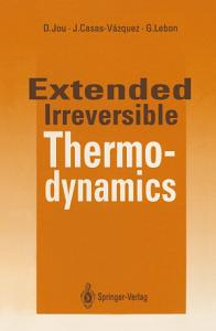 Extended Irreversible Thermodynamics PDF